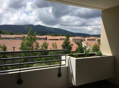 Appt Type 3 au 1er étage loggia + terrasse et parking