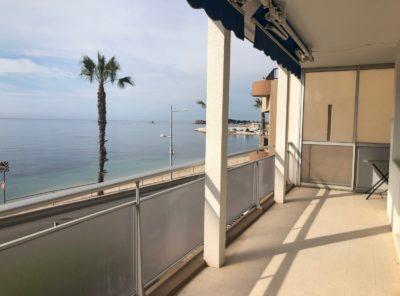 Bel appartement meublé Type 3 terrasse vue mer