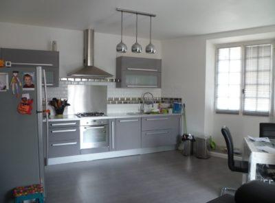 Appartement Type 3 RDC surélevé 74m² avec garage