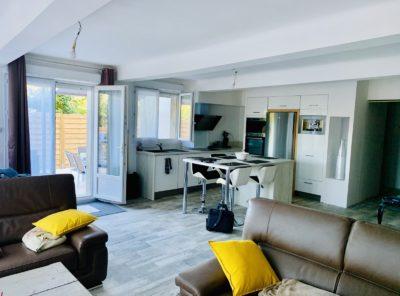 Appartement de 90m² avec 430m² de jardin
