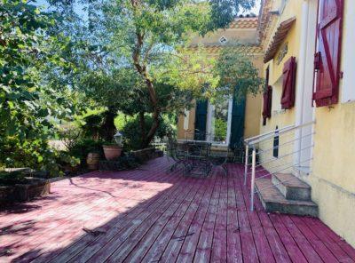Maison atypique de 130m² sur 1250m² de terrain.