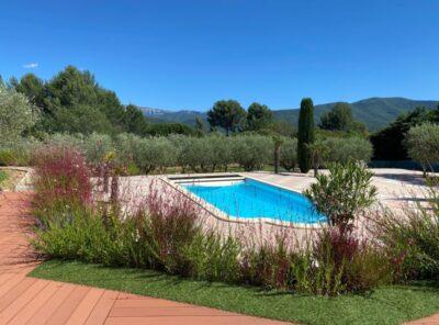 Belle Villa avec authentique cabanon provençal sur 5000m² de jardin paysagé