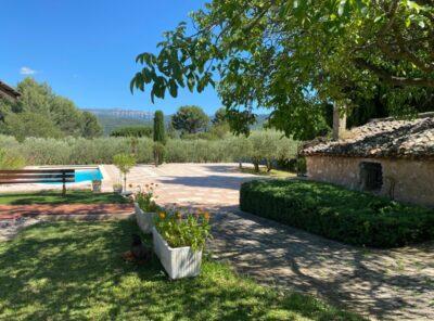 Belle Villa de caractère sur 5000m² de jardin paysagé, vue splendide