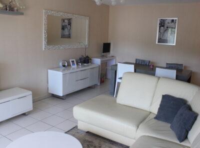 Appartement Type 3 avec terrasse et garage double dans résidence