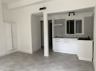 Appartement rénové de type 1 avec une alcove au 2e étage