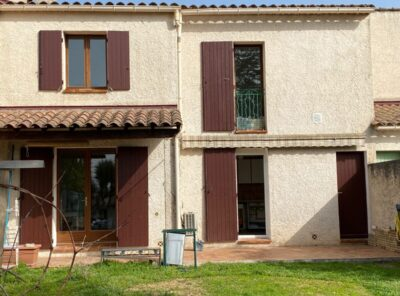 Villa Type 4 avec garage et jardinet