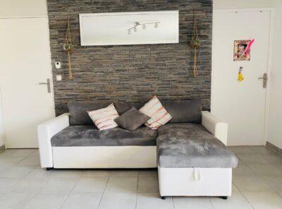 Bel appartement Type 3 avec terrasse et garage