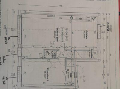 Villa neuve Type 4 de 89,19m² avec jardinet