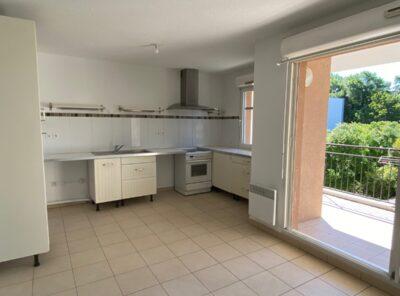 Appartement Type 3 avec terrasse et garage dans résidence